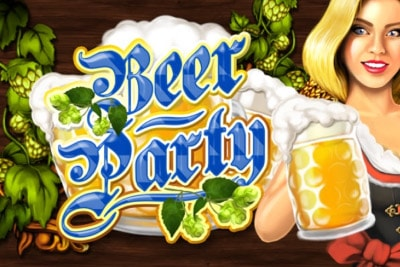 Beer Party Mobile Slot Logo
