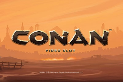 Conan Mobile Slot Logo