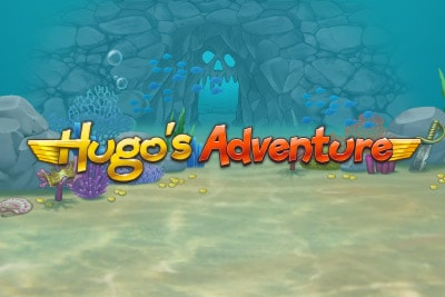 Hugo's Adventure Mobile Slot Logo