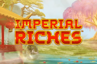Imperial Riches Mobile Slot Logo