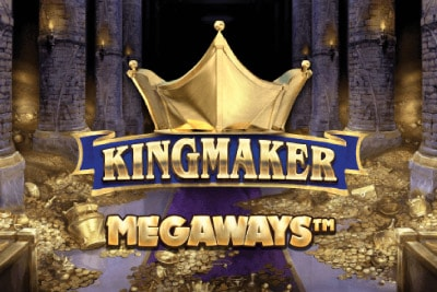 Kingmaker Megaways Mobile Slot Logo