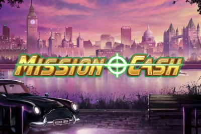 Play'n GO Mission Cash Mobile Slot Logo