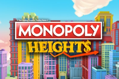 Monopoly Heights Mobile Slot Logo