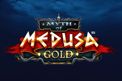 Myth of Medusa Gold Mobile Slot Logo