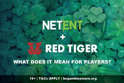 NetEnt Buys Red Tiger Gaming