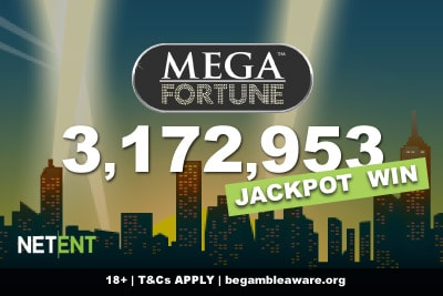 UK Slots Player Wins Over 3.1 Million On Mega Fortune Slot