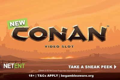 New NetEnt Conan Video Slot Preview