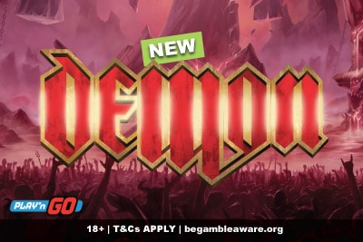 New Play'n GO Demon Slot Machine