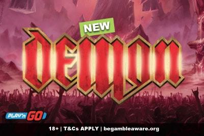 New Play'n GO Demon Slot Machine