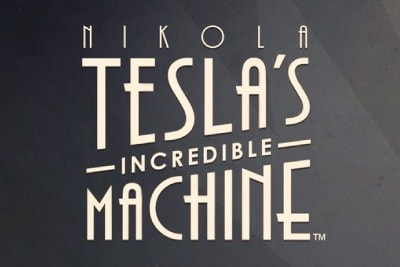 Rabcat Nikola Teslas Incredible Machine Slot Logo
