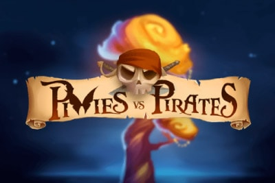 Pixies vs Pirates Mobile Slot Logo