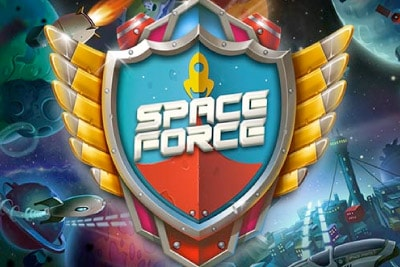 Space Force Mobile Slot Logo