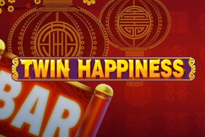 Twin Happiness Mobile Slot Logo