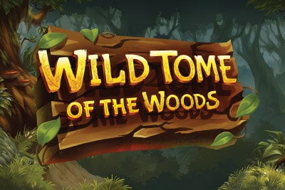 Wild Tome of the Woods Mobile Slot Logo