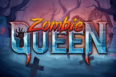 Zombie Queen Mobile Slot Logo