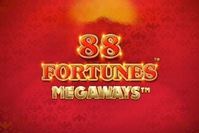 88 Fortunes Megaways Slot Logo