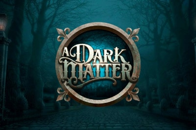 A Dark Matter Mobile Slot Logo