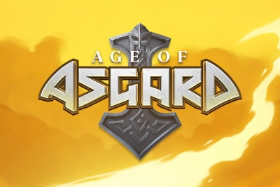 Age of Asgard Mobile Slot Logo