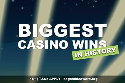 The Biggest Casino Wins Online In History