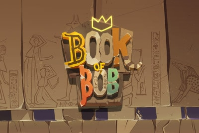 Book of Bob Mobile Slot Logo