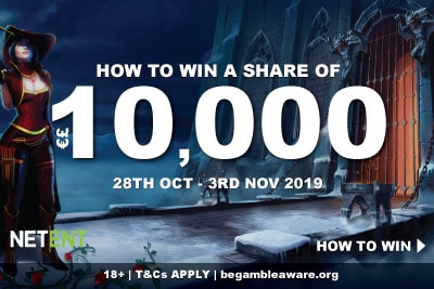 Win A Share of 10K At Casumo Mobile Casino on NetEnt Slots