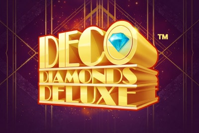 Deco Diamonds Deluxe Mobile Slot Logo