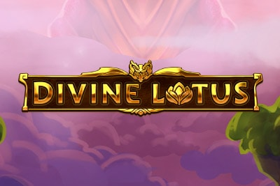 Divine Lotus Mobile Slot Logo