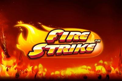 Fire Strike Mobile Slot Logo