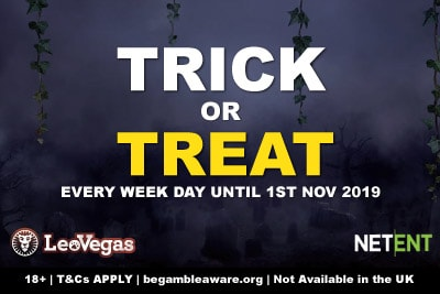 LeoVegas Trick Or Treat Promo