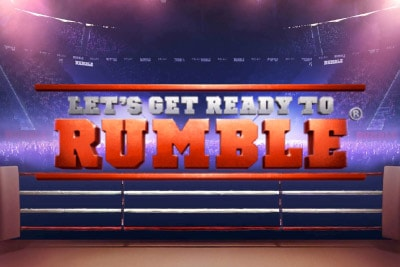 Lets Get Ready To Rumble Mobile Slot Logo