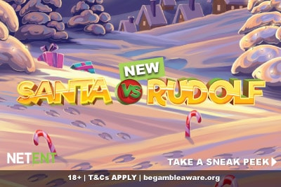 New NetEnt Santa vs Rudolf Mobile Slot Coming Soon