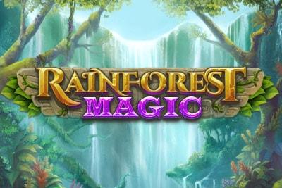 Rainforest Magic Mobile Slot Logo
