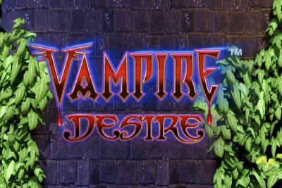 Vampire Desire Mobile Slot Logo