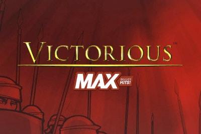 Victorious Max Mobile Slot Logo
