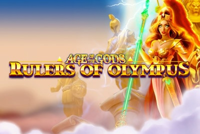 Age of the Gods Rulers of Olympus Slot Logo