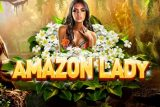 Amazon Lady Mobile Slot Logo