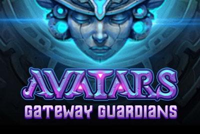 Avatars Gateway Guardians Mobile Slot Logo