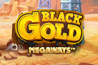 Black Gold Megaways Mobile Slot Logo