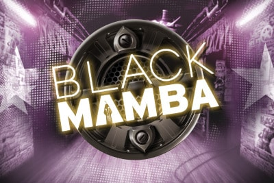 Black Mamba Mobile Slot Logo