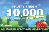 Play To Win The Casumo 10K Fruity Fresh Prize Draw