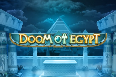 Doom of Egypt Mobile Slot Logo