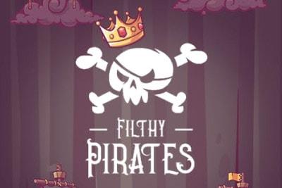 Filthy Pirates Mobile Slot Logo