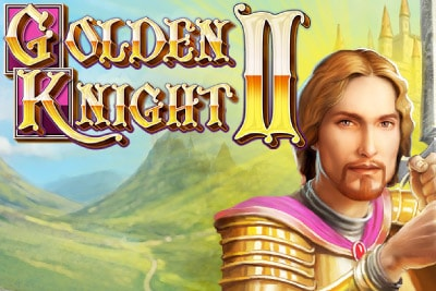 Golden Knight 2 Mobile Slot Logo
