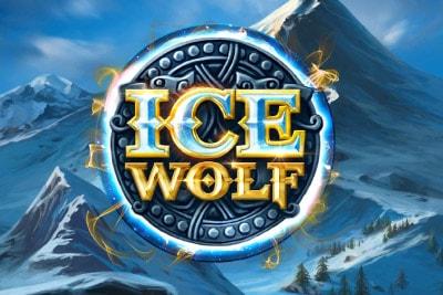 Ice Wolf Mobile Slot Logo
