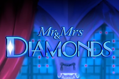 Mr and Mrs Diamonds Mobile Slot Logo