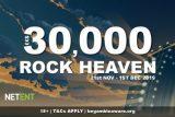 NetEnt Casinos 30K Rock Heaven Promo
