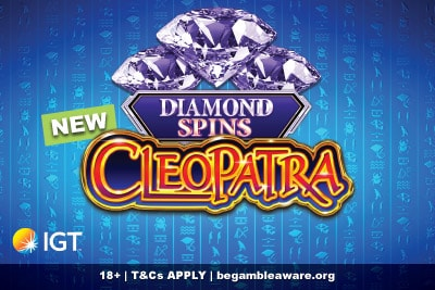 New IGT Cleopatra Diamond Spin Mobile Slot Coming