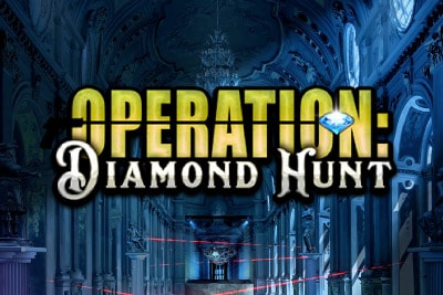 Operation Diamond Hunt Mobile Slot Logo