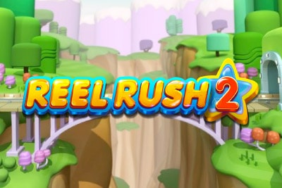 Reel Rush 2 Mobile Slot Logo
