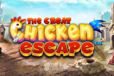 The Great Chicken Escape Mobile Slot Logo